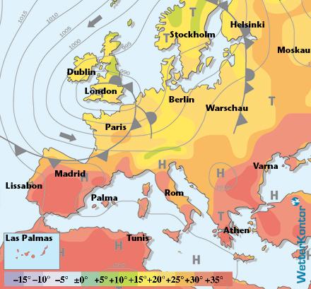 Euro Wetter